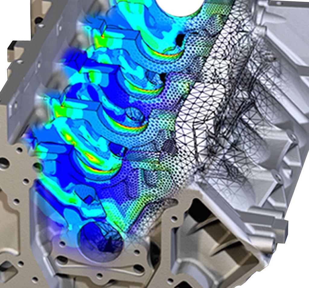 Finite Element Modeling - Engine Block