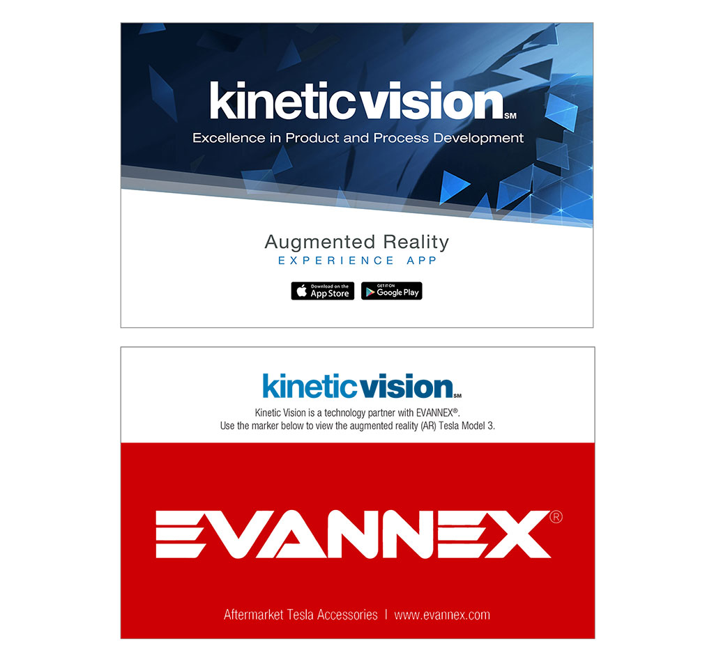 Kinetic Vision AR Experience Targets