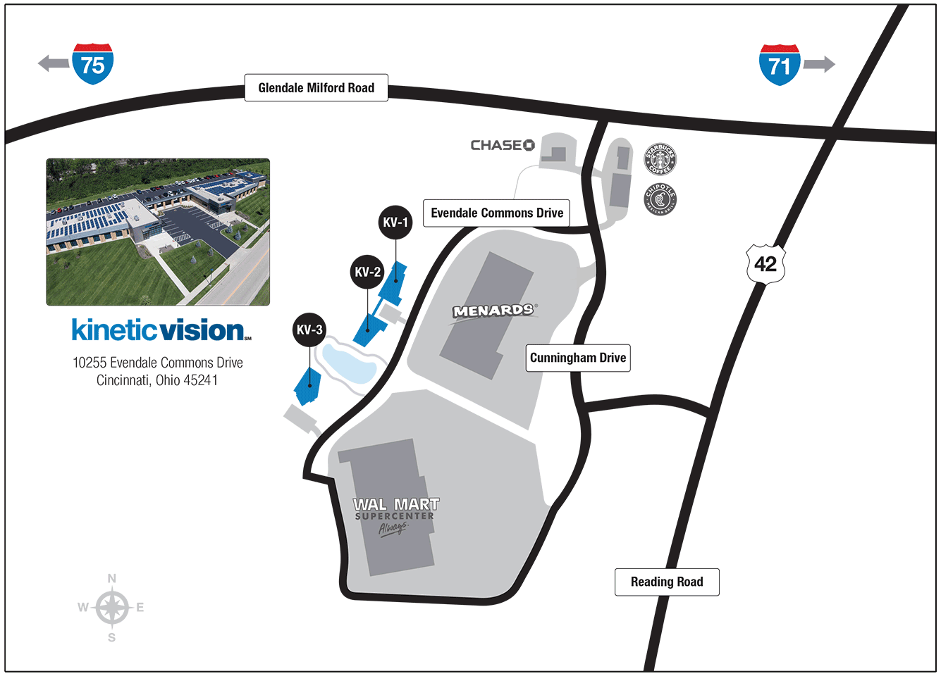 Kinetic Vision Campus Map