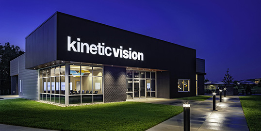 About Kinetic Vision - Exterior Building View